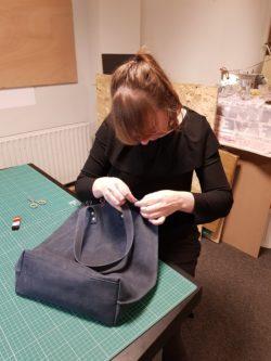 Workshop leren tas maken